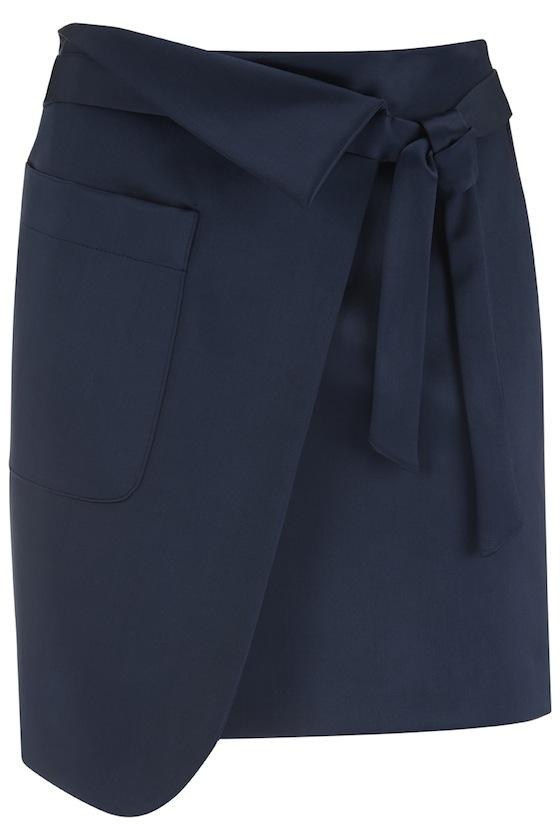 Elmore wrap skirt, €67.81 at finerylondon.com