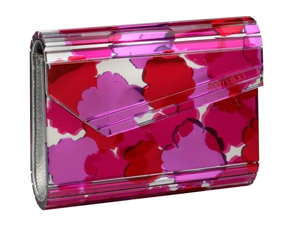 Candy Mirrored Acrylic Clutch, Jimmy Choo, €850