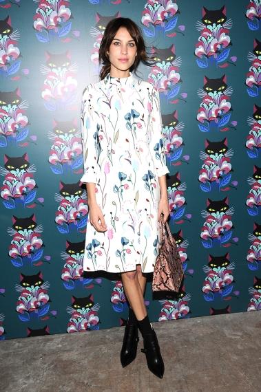 Dress by Alexa Chung on Miu Miu