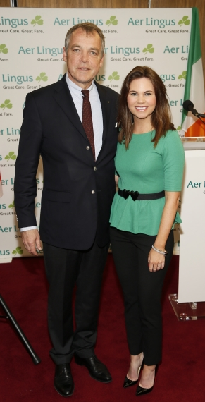 Inaugural Aer Lingus Dublin to San Francisco flight