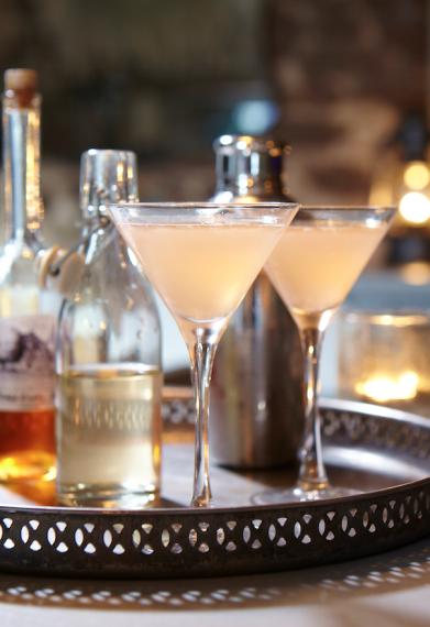 Rhubarb Martini