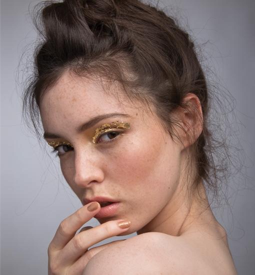 Golden Child Beauty Shoot