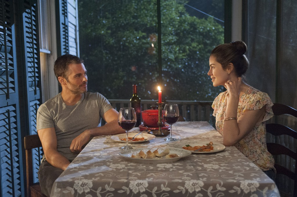 James Marsden and Michelle Monaghan star in Relativity Media's THE BEST OF ME.
