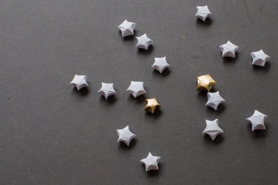 Message in a Star DIY Tutorial