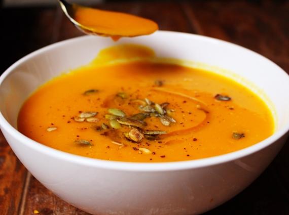 Roast Pumpkin & Butternut Squash Soup