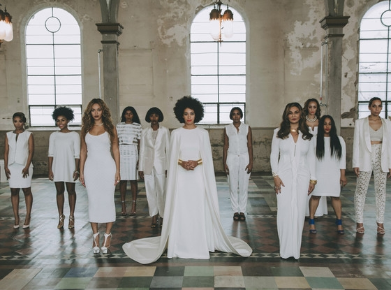 Solange Knowles Wedding, Via Vogue
