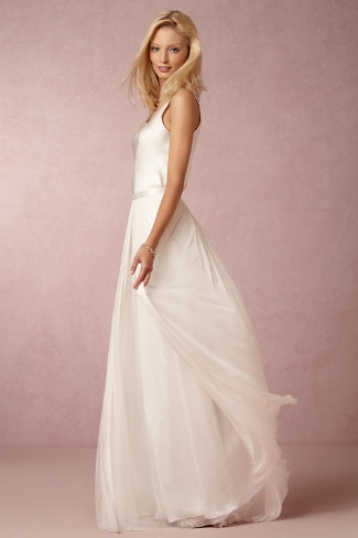 BHLDN anika tulle skirt and camisole €530