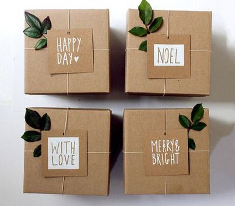 Brown Box with Message, bloglovin.com