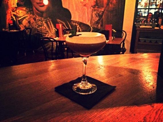 Roaster hazelnut espresso martini