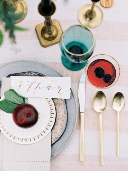Gennel Lynne table settings
