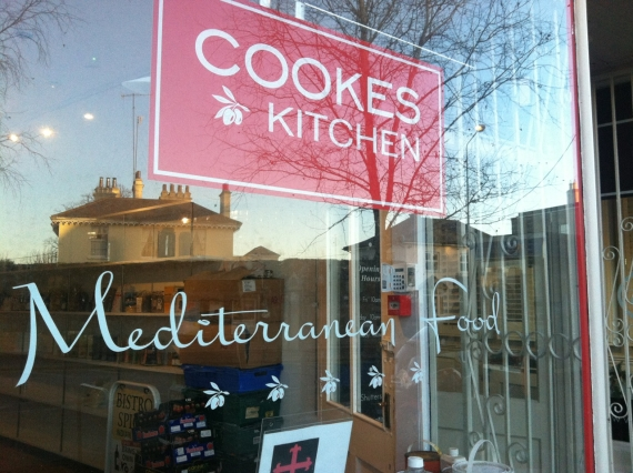 Cookes Kitchen's windown