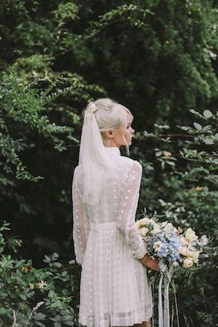 1960s Style Bride