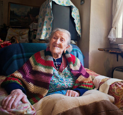 115 year old woman