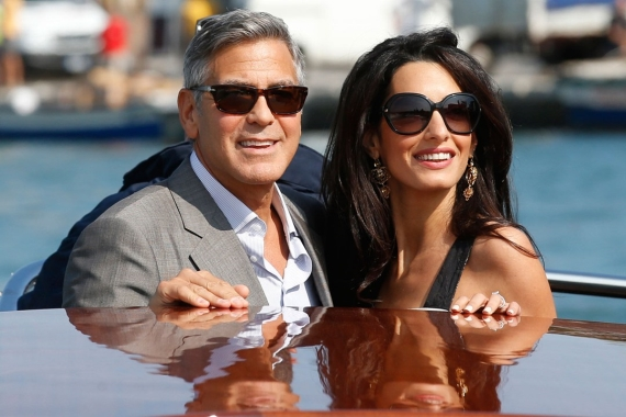 George Clooney & Aman Alamuddin