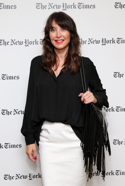 NEW YORK, NY - SEPTEMBER 03: Fashion designer Tamara Mellon attends the New York Times Vanessa Friedman and Alexandra Jacobs welcome party on September 3, 2014 in New York City. (Photo by Neilson Barnard/Getty Images for the New York Times)