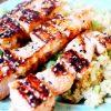Recipe: Salmon Teriyaki Skewers