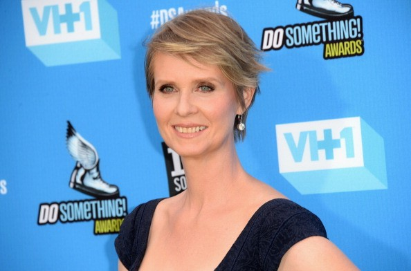 HOLLYWOOD, CA - JULY 31: Actress Cynthia Nixon arrives at the DoSomething.org and VH1's 2013 Do Something Awards at Avalon on July 31, 2013 in Hollywood, California. (Photo by Jason Merritt/Getty Images)