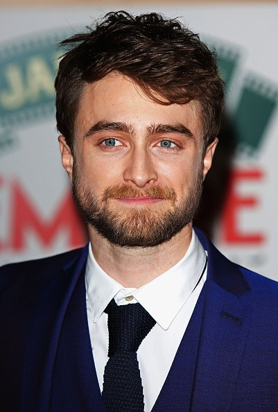 Daniel Radcliffe during the Jameson Empire Awards 2015 at the Grosvenor House Hotel on March 29, 2015 in London, England.