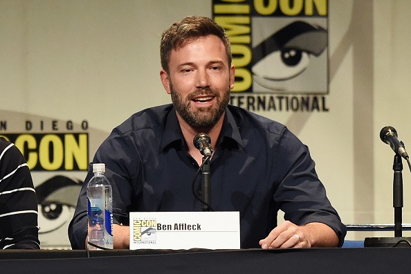 "SAN DIEGO, CA - JULY 11: Actor Ben Affleck from ""Batman v. Superman: Dawn of Justice"" attends the Warner Bros. presentation during Comic-Con International 2015 at the San Diego Convention Center on July 11, 2015 in San Diego, California. (Photo by Kevin Winter/Getty Images)"