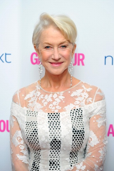 LONDON, ENGLAND - JUNE 03: Dame Helen Mirren attends the Glamour Women of the Year Awards at Berkeley Square Gardens on June 3, 2014 in London, England. (Photo by Gareth Cattermole/Getty Images)