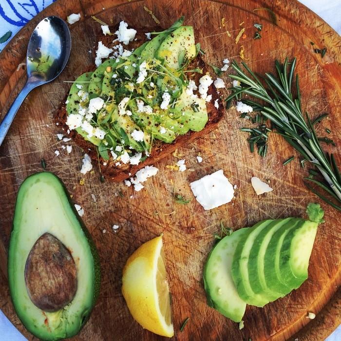 avocado toast blacksheep foods