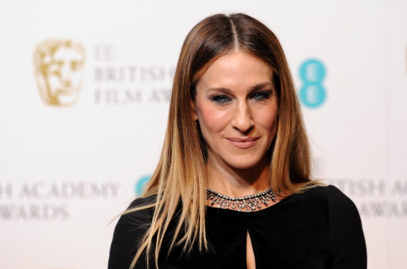 LONDON, ENGLAND - FEBRUARY 10: Sarah Jessica Parker poses in the press room at the EE British Academy Film Awards at The Royal Opera House on February 10, 2013 in London, England. (Photo by Stuart Wilson/Getty Images)