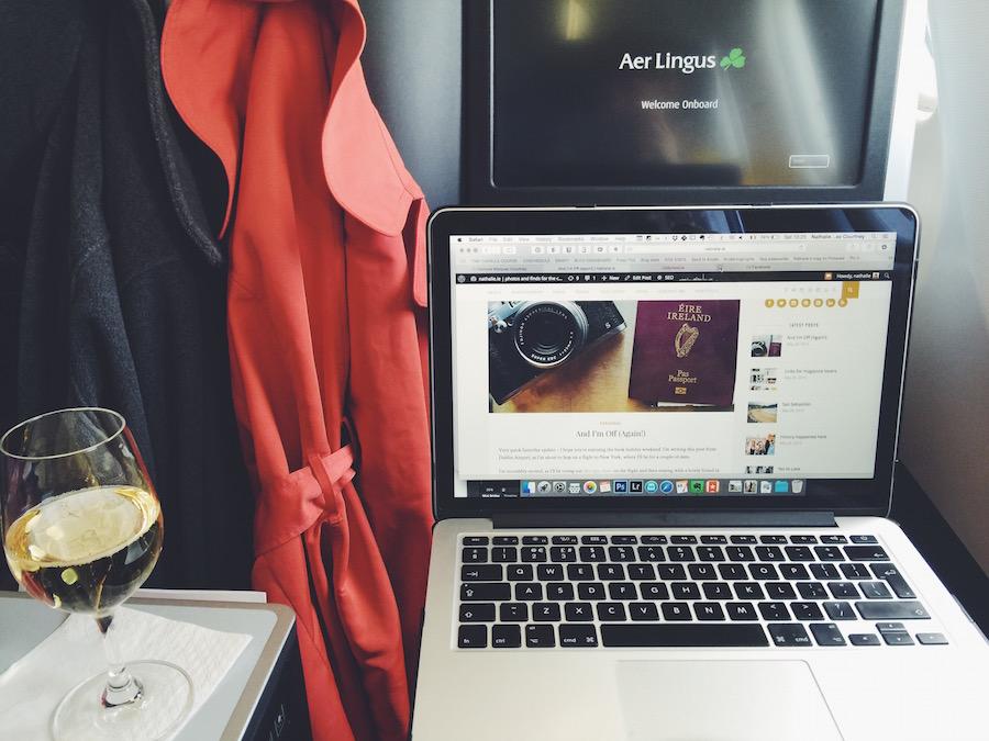 Aer Lingus Business Class Cabin. Image: Nathalie Marquez Courtney