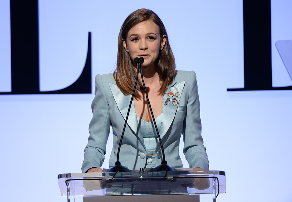 carey mulligan onstage during the 22nd Annual ELLE Women in Hollywood Awards at Four Seasons Hotel Los Angeles at Beverly Hills on October 19, 2015 in Los Angeles, California.