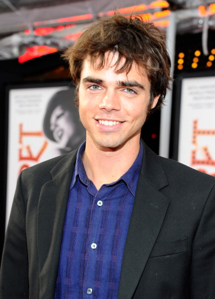 """HOLLYWOOD, CA - APRIL 12:  Actor Reid Ewing arrives at the TCM Classic Film Festival opening night premiere of the 40th anniversary restoration of """"Cabaret"""" at Grauman's Chinese Theatre on April 12, 2012 in Hollywood, California.  (Photo by Alberto E. Rodriguez/Getty Images)"""