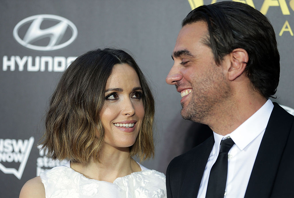SYDNEY, AUSTRALIA - JANUARY 29:  Rose Byrne and Bobby Cannavale arrive at the 4th AACTA Awards Ceremony at The Star on January 29, 2015 in Sydney, Australia.  (Photo by Mark Metcalfe/Getty Images)