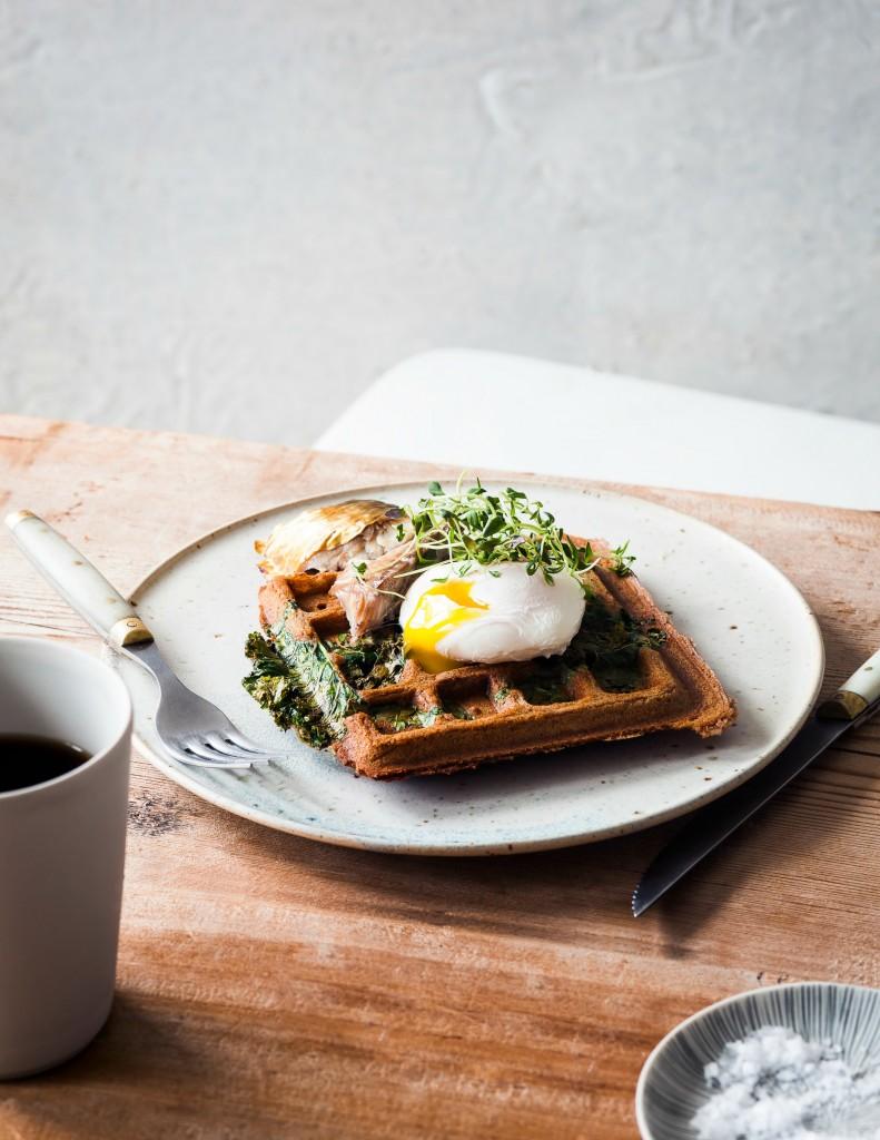 buckwheat and kale waffles copyb